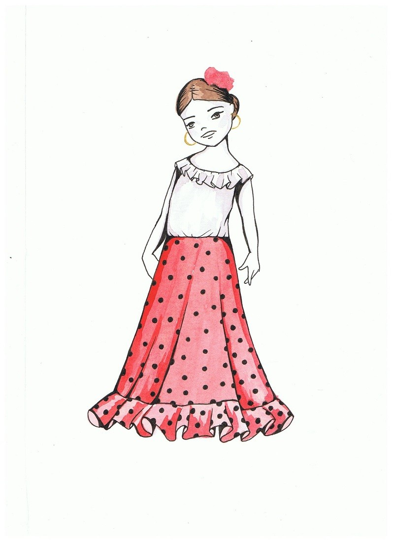 d145e64b0 Blancanieves - Patrones Moda Flamenca