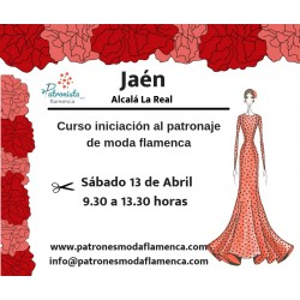 Málaga. Curso iniciación al patronaje de flamenca