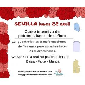 Sevilla. Curso de patrones bases de señora