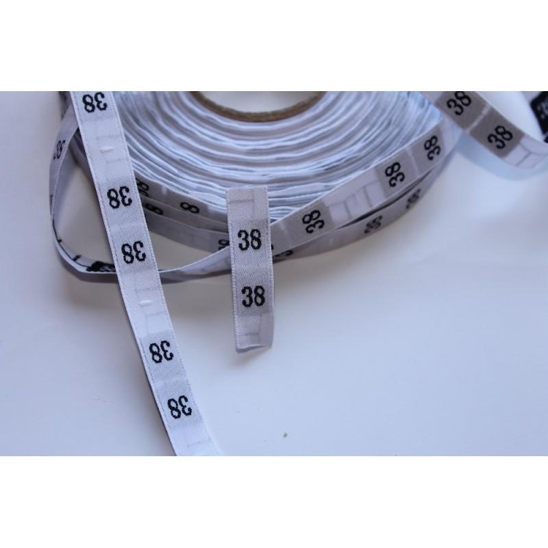Etiquetas de talla